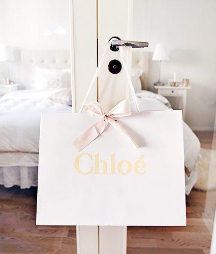 chloé drew bag is here!