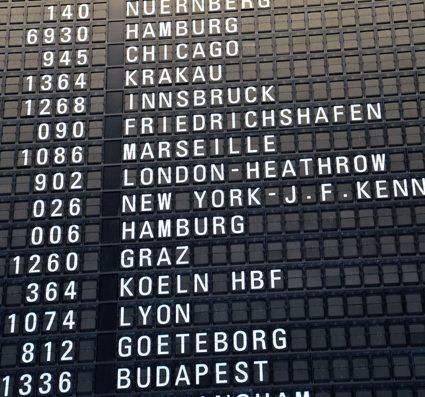 on my way to new york!