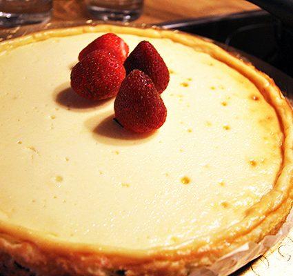 brownie-white chocolate-cheesecake