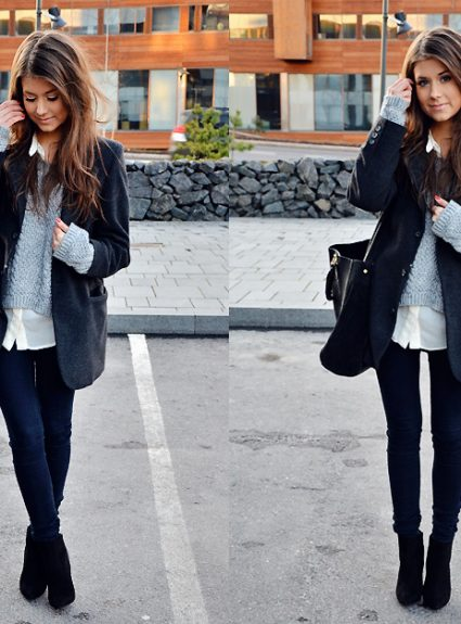 Winter Outfit Throwback x 10